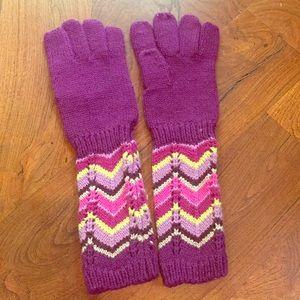Missoni for Target kids sweater mittens